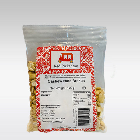 Red Rickshaw Cashew Pieces