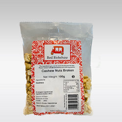 Red Rickshaw Cashew Pieces - 100g