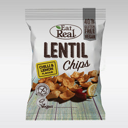Eat Real Lentil Chips (Chilli & Lemon) 40g