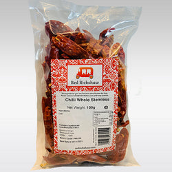 Red Rickshaw Red Chilli (Without Stem) - 5 Kg