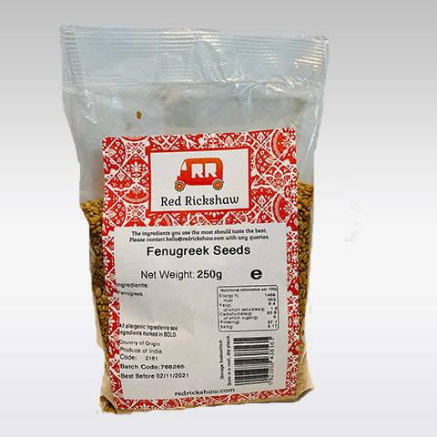 Red Rickshaw Methi (Fenugreek) Seeds