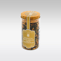 Genmaicha - Sencha Green Tea mixed with Brown Rice 80g by Choi Time