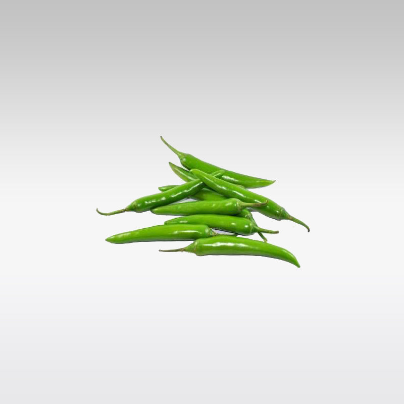 Green Chillies (Full Box - Appx 2.5 Kg)