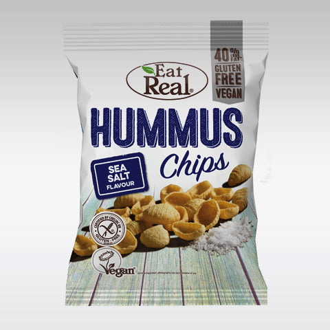 Eat Real Hummus Chips (Sea Salt) 45g