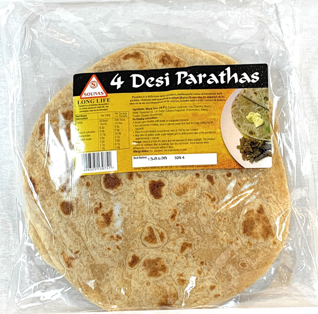 Sounas Desi Parathas (Pack of 4)