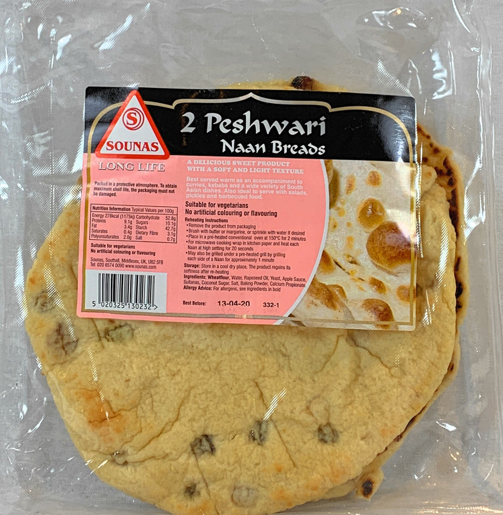 Sounas Peshwari Naan (Pack of 2)