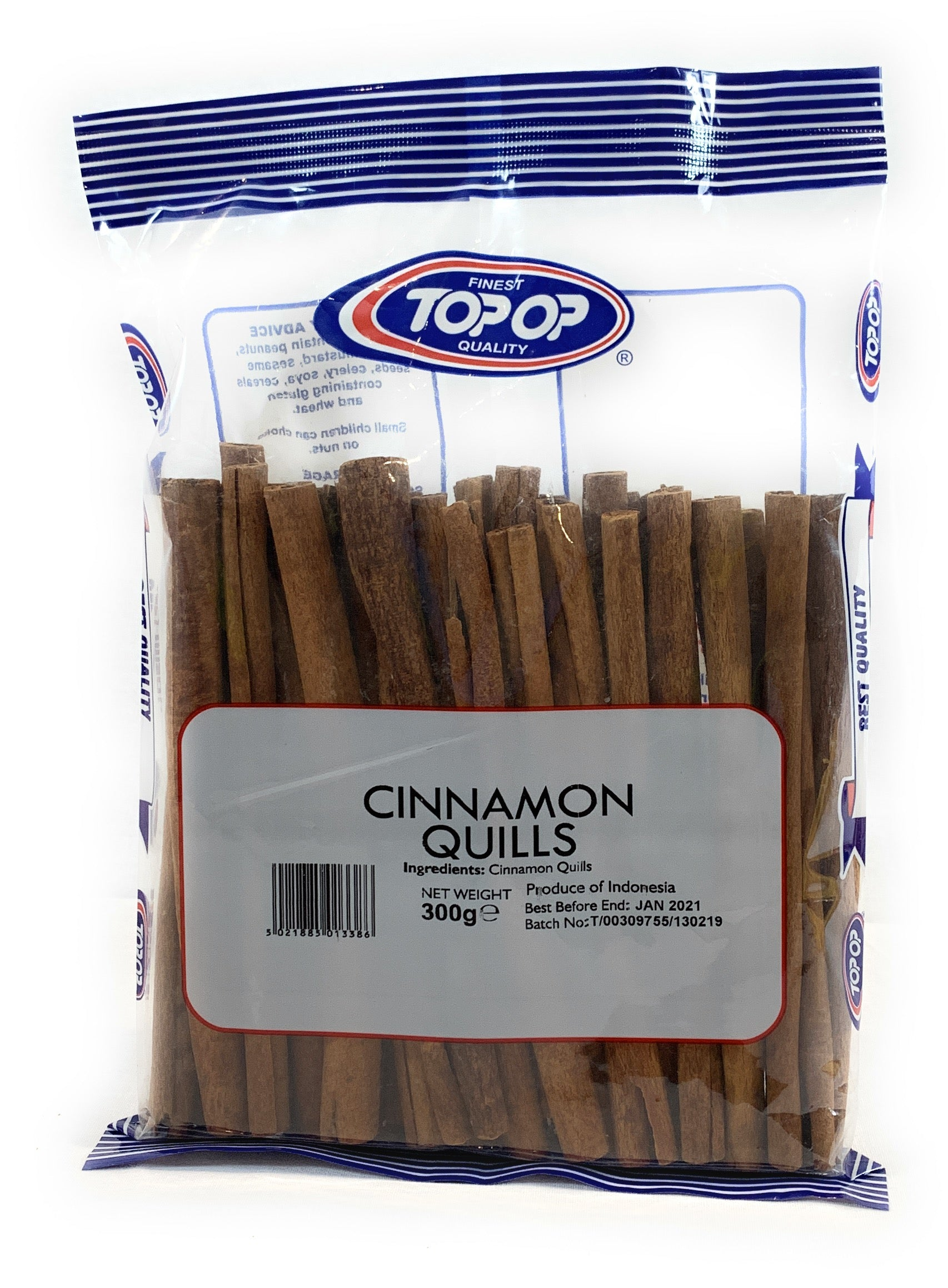 Top-op Cinnamon Quills 300g