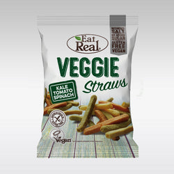 Eat Real Potato Veggie Straws (Kale, Tomato & Spinach) 45g