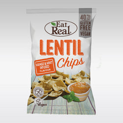 Eat Real Lentil Chips (Mint & Mango Infused) 40g