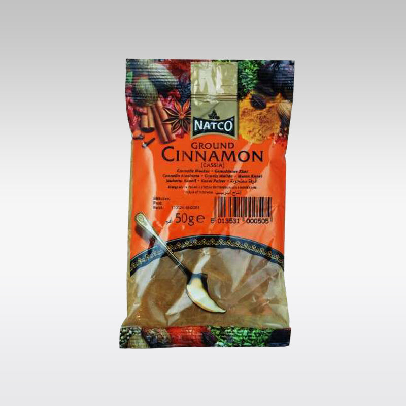 Natco Ground Cinnamon (Dalchini) 50g