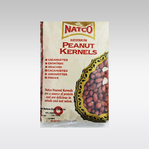 Natco Red Peanut Kernel with Skin 400g
