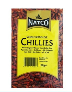 Natco Dried Chillies 50g