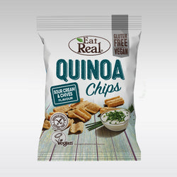 Eat Real Quinoa Chips (Sour Cream & Chive) 30g