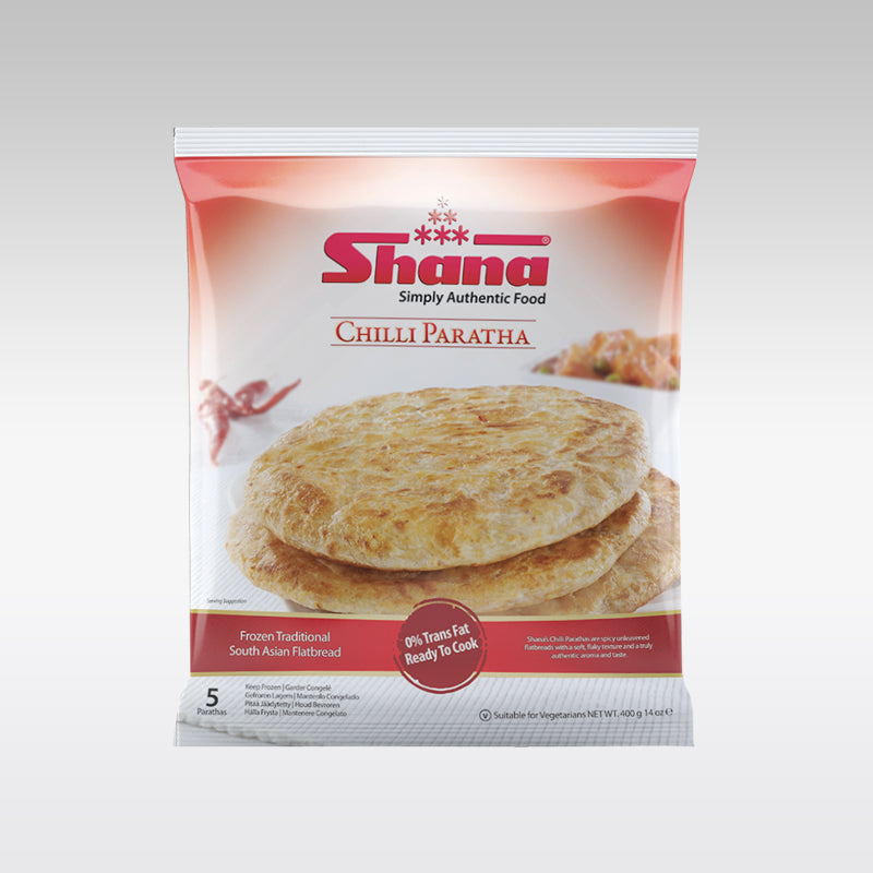 Shana Chilli Paratha (5 Pieces)