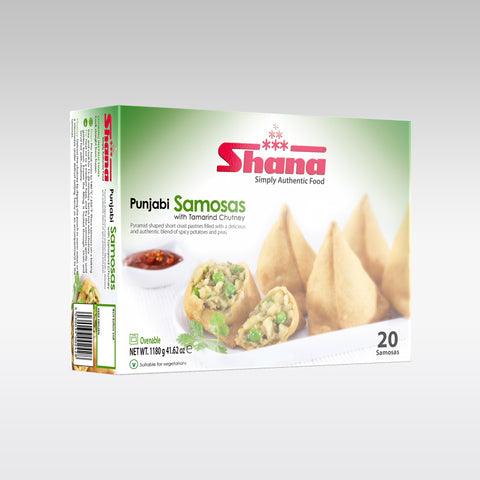Shana Punjabi Samosa (Pack of 20)
