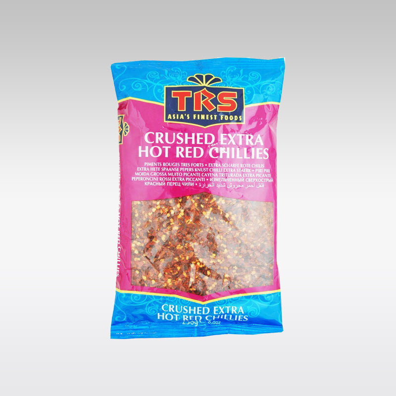 TRS Extra Hot Crushed Red Chillies 250g