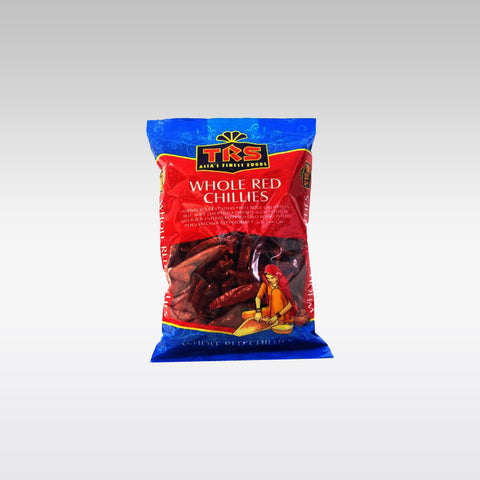 TRS Whole Red Chillies 150g - redrickshaw.com