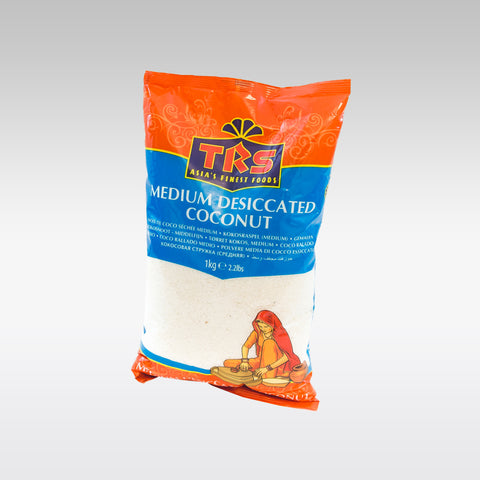 TRS Medium Desiccated Coconut 1 Kg - redrickshaw.com