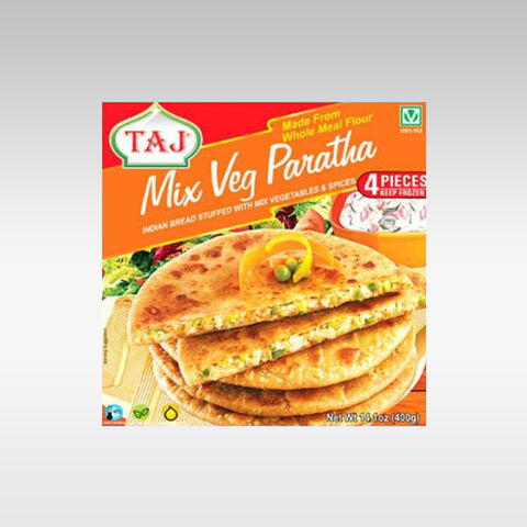 Taj Mixed Vegetable Paratha 400g