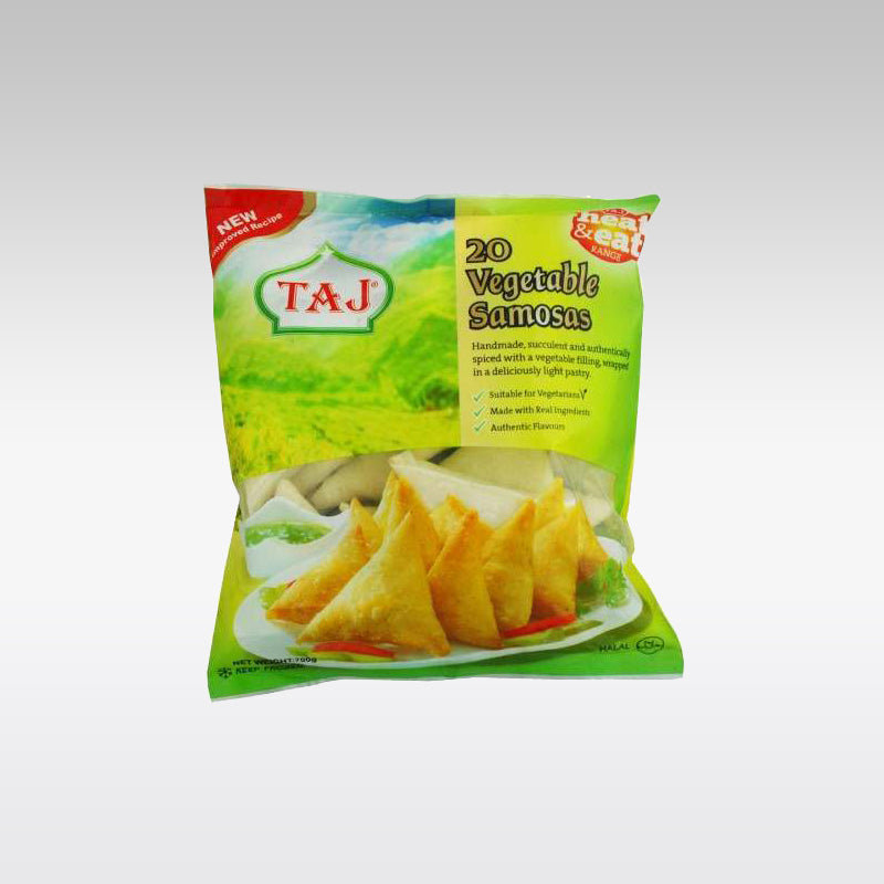 Taj Vegetable Samosa (Pack of 20)