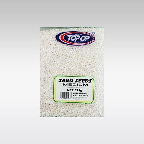 Top-op Sago Seeds (Sabudana) Medium 375g - redrickshaw.com