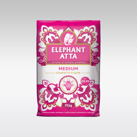Elephant Atta Medium 25 Kg