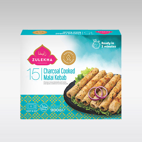 Zulekha Chicken Charcoal Malai Kebab 15pcs