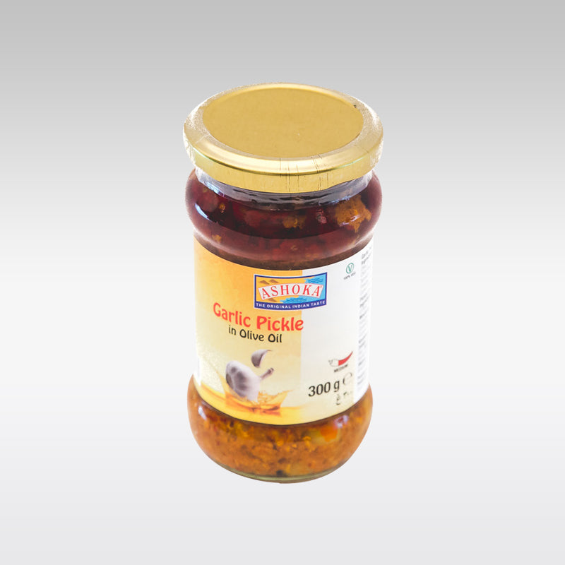 Ashoka Garlic Pickle (Olive Oil) 300g