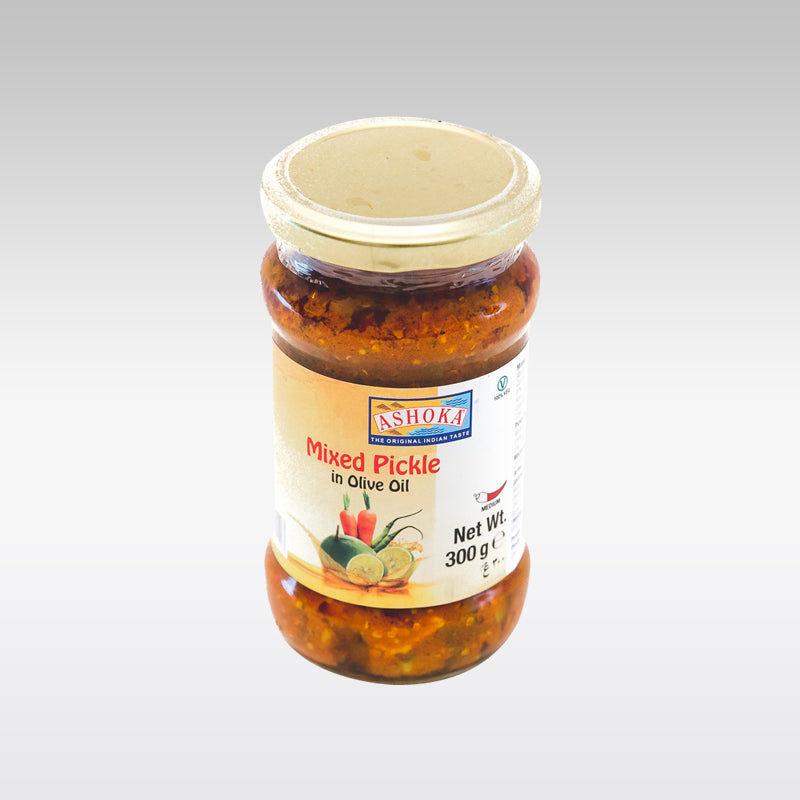Ashoka Mixed Pickle in Olive Oil 300g