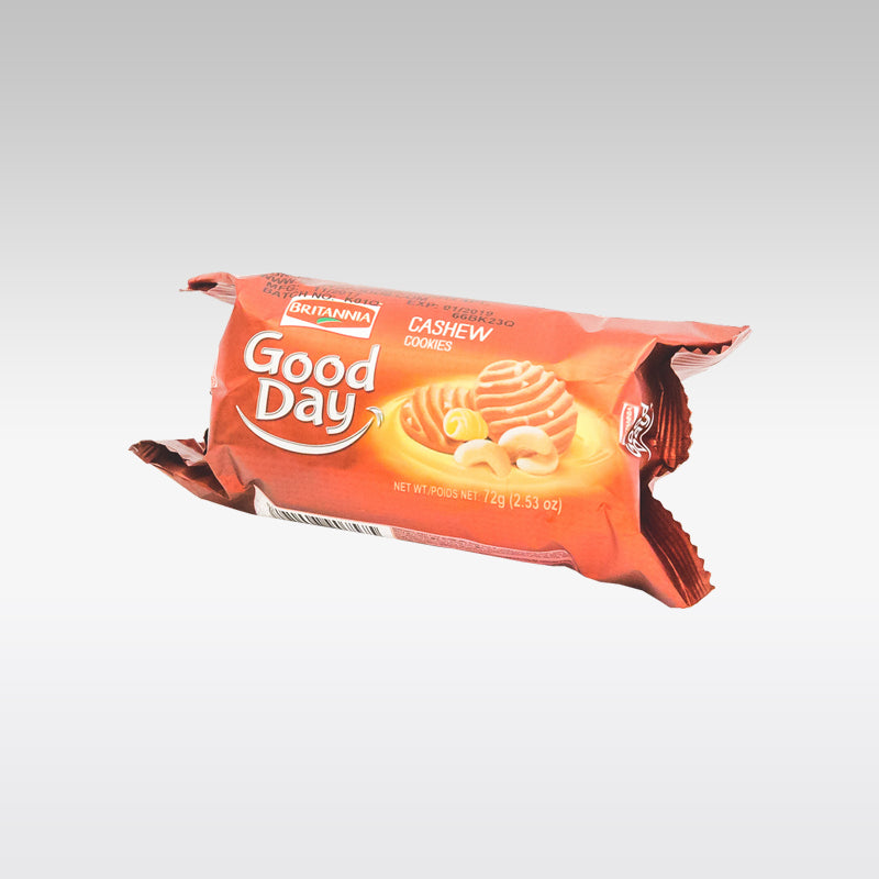 Britannia Good Day Biscuit Cashew 72g