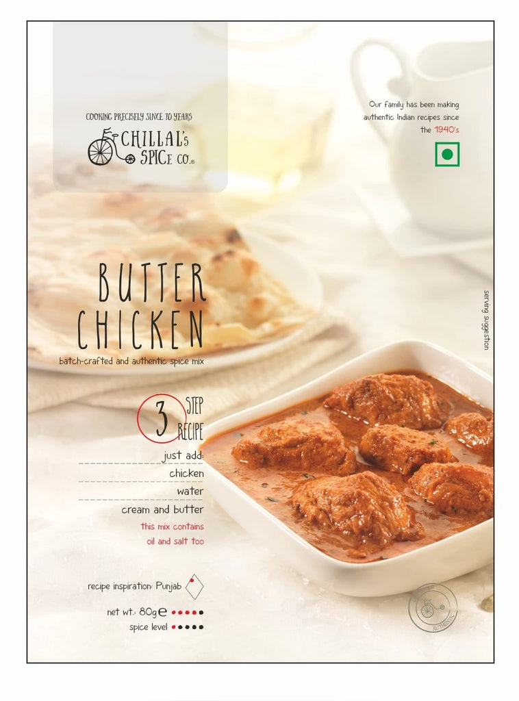 Chillal's Spice Co. Butter Chicken 80g