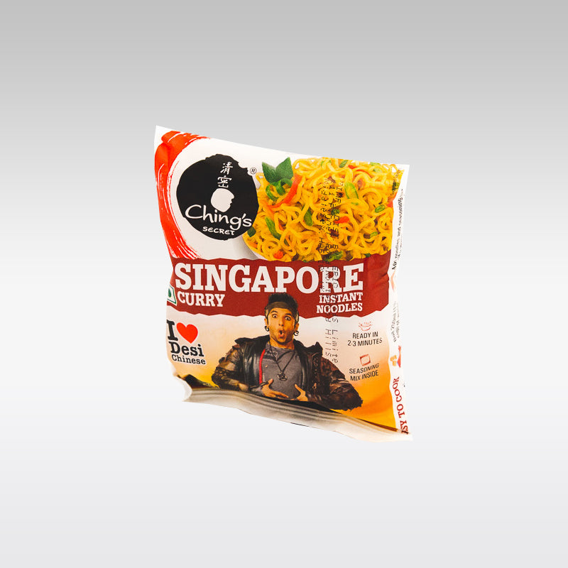 Ching's Singapore Curry Instant Noodles 75g