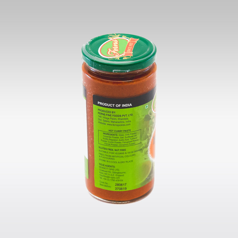 Ferns Hot Curry Paste 380g