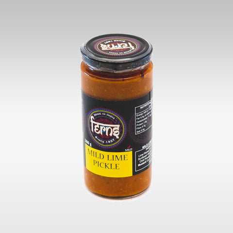 Ferns Mild Lime Pickle 380g - redrickshaw.com