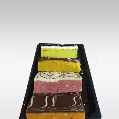 Shayona Mixed Flavoured Barfi (8 pieces)