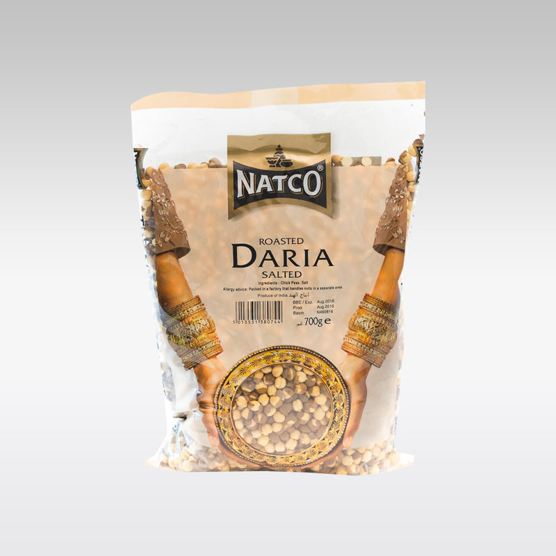 Natco Roasted Daria (Salted) 700g