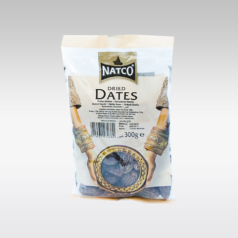Natco Dried Dates 300g - redrickshaw.com