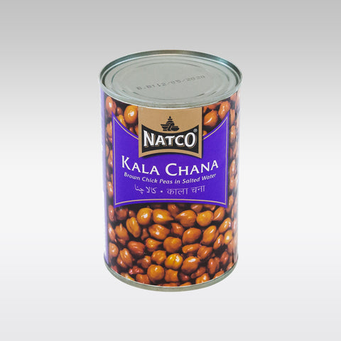 Natco Brown Chick Peas (Boiled Kala Chana) Can 397g