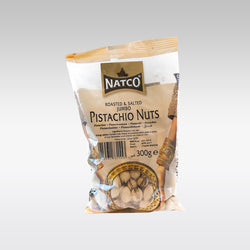 Natco Roasted & Salted Jumbo Pistachio Nuts 300g