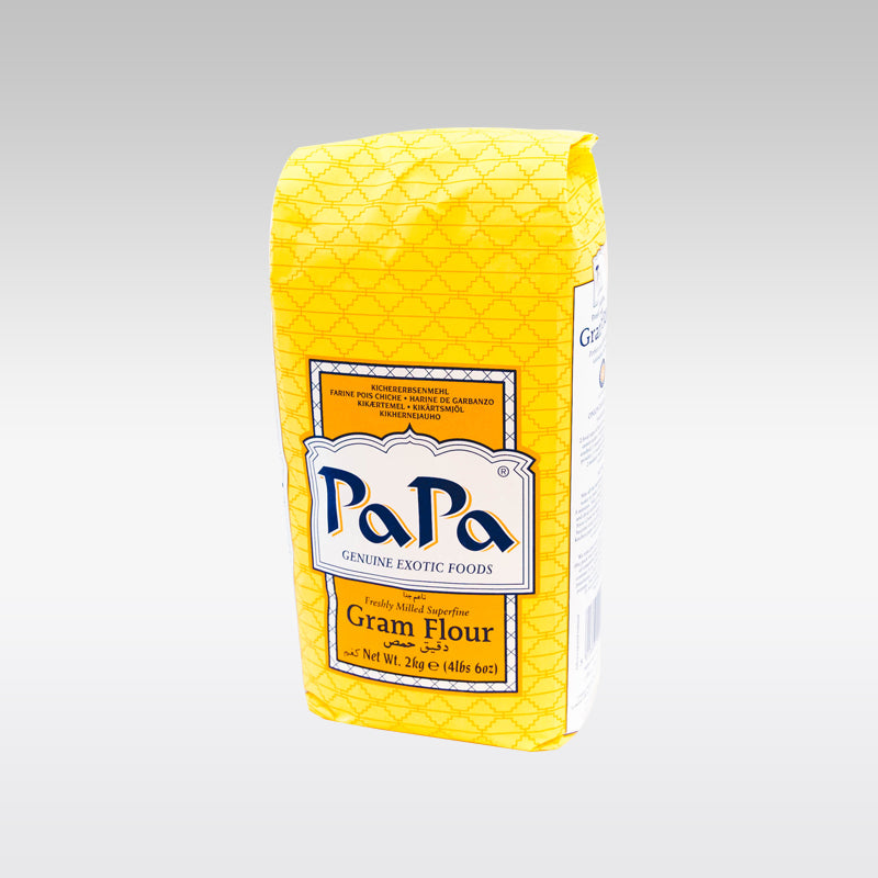 Buy Papa Gram Flour (Besan) 2 Kg for £3 99 from Indian Grocery Store