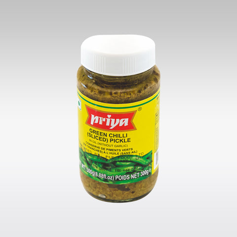 Priya Green Chilli Sliced Pickle 300g