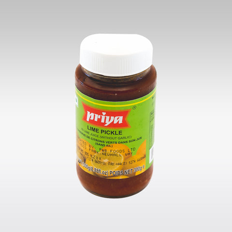 Priya Lime Pickle 300g - redrickshaw.com