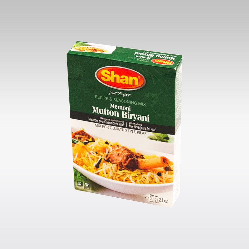 Shan Mutton Biryani (Memoni) Mix 60g