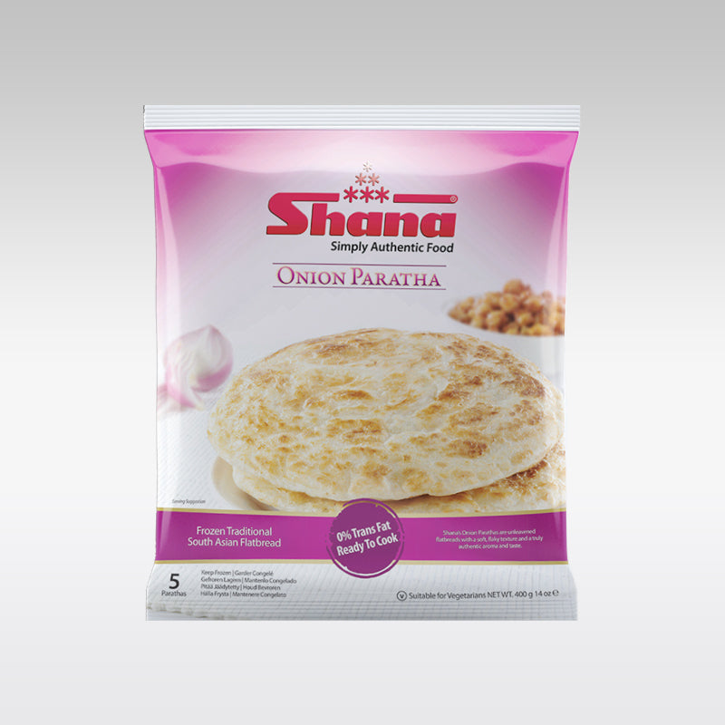 Shana Onion Paratha (5 Pieces)