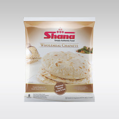 Shana Wholemeal Chapatti (Pack of 8)