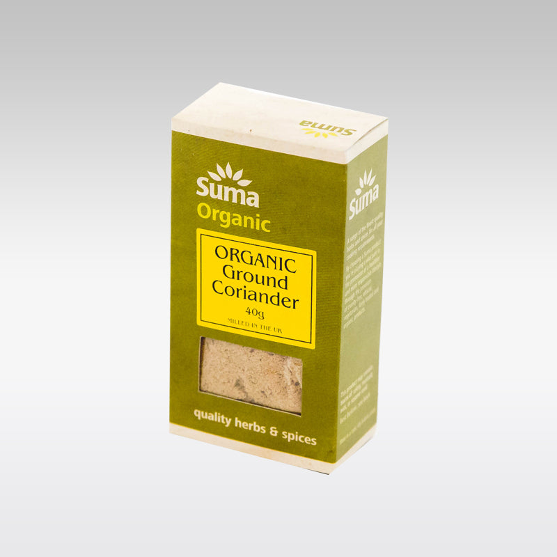 Suma Organic Ground Coriander 40g