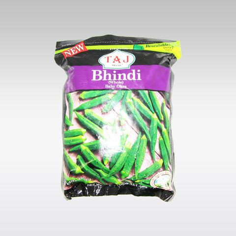 Taj Whole Baby Okra 340g