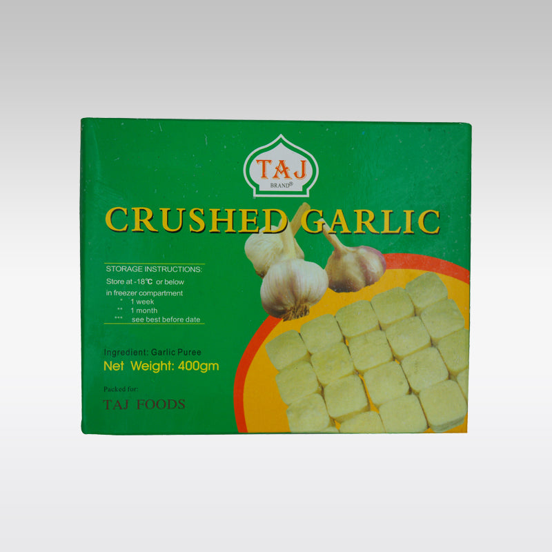 Taj Crushed Garlic 400g