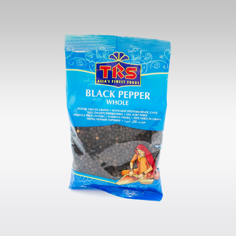 TRS Whole Black Pepper 100g