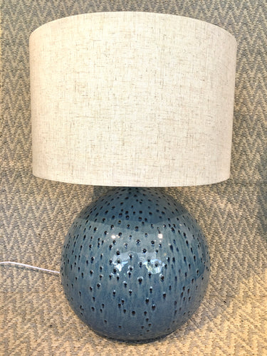 LARGE BOBBLE LAMP - BLUE - PREORDER